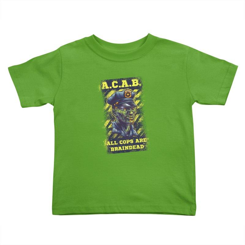 A.C.A.B. Kids Toddler T-Shirt by fishark's Artist Shop