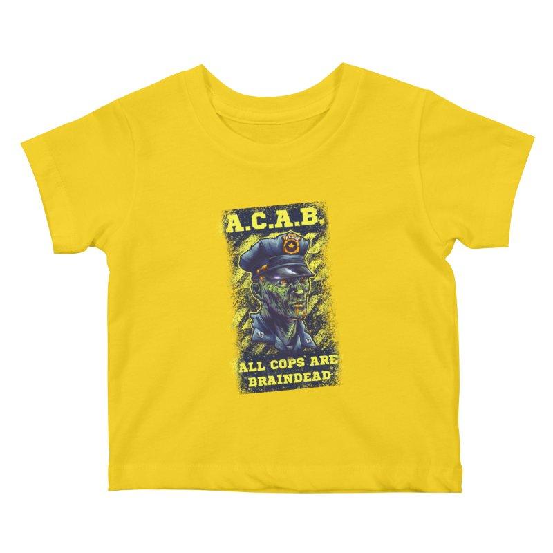 A.C.A.B. Kids Baby T-Shirt by fishark's Artist Shop