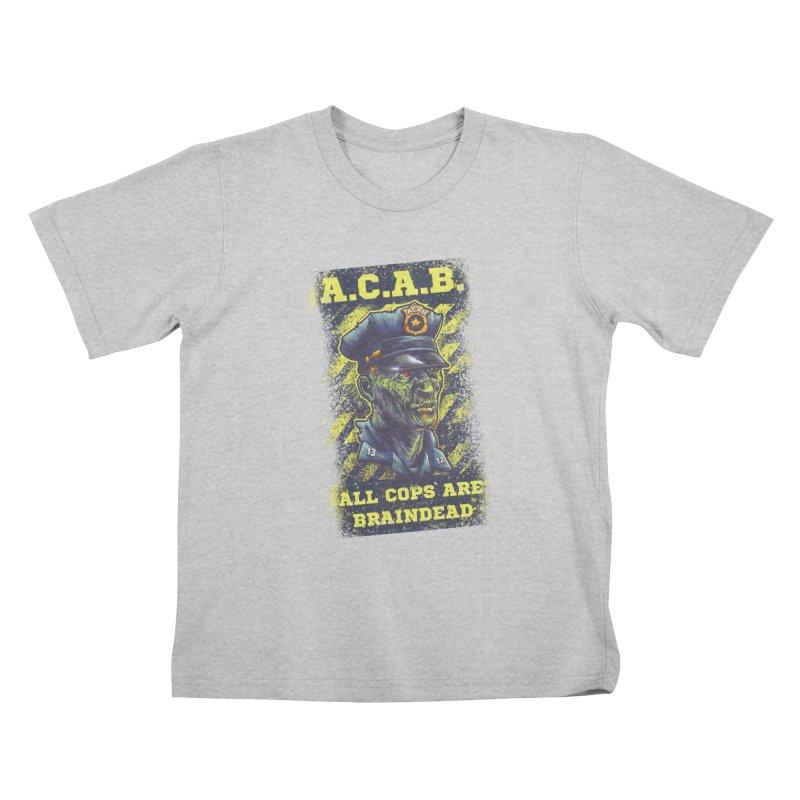 A.C.A.B. Kids T-Shirt by fishark's Artist Shop