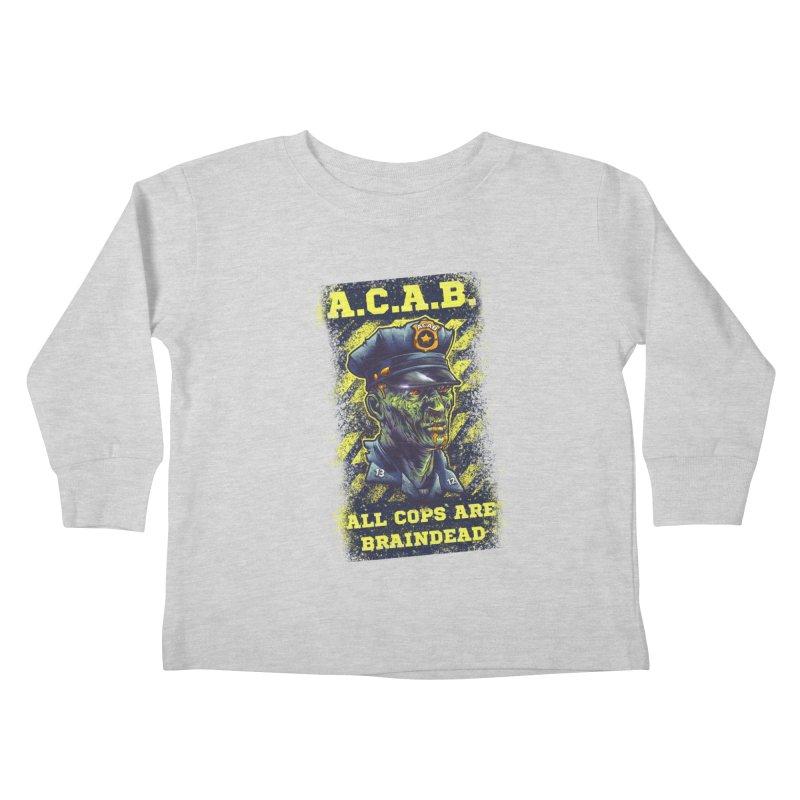 A.C.A.B. Kids Toddler Longsleeve T-Shirt by fishark's Artist Shop