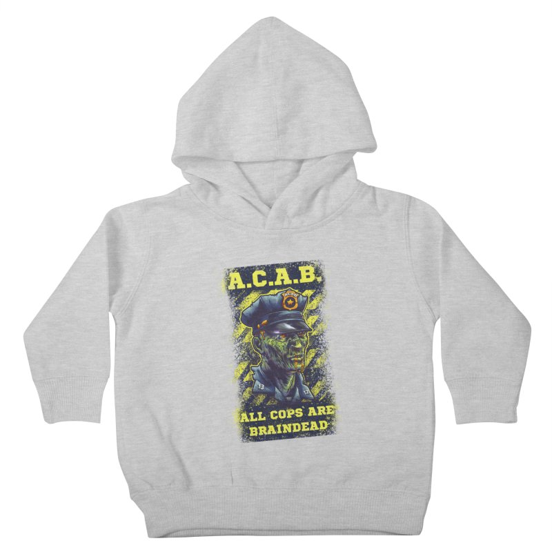 A.C.A.B. Kids Toddler Pullover Hoody by fishark's Artist Shop