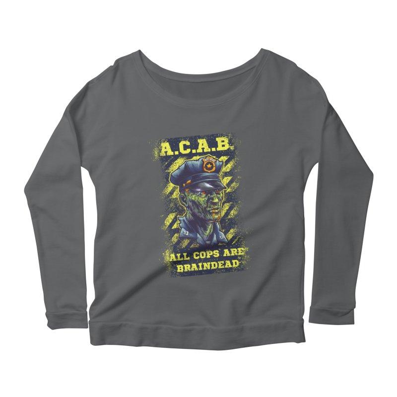 A.C.A.B. Women's Longsleeve T-Shirt by fishark's Artist Shop