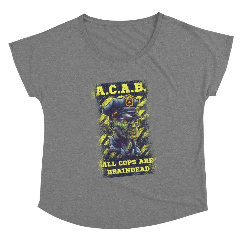 A.C.A.B. Women's Scoop Neck by fishark's Artist Shop