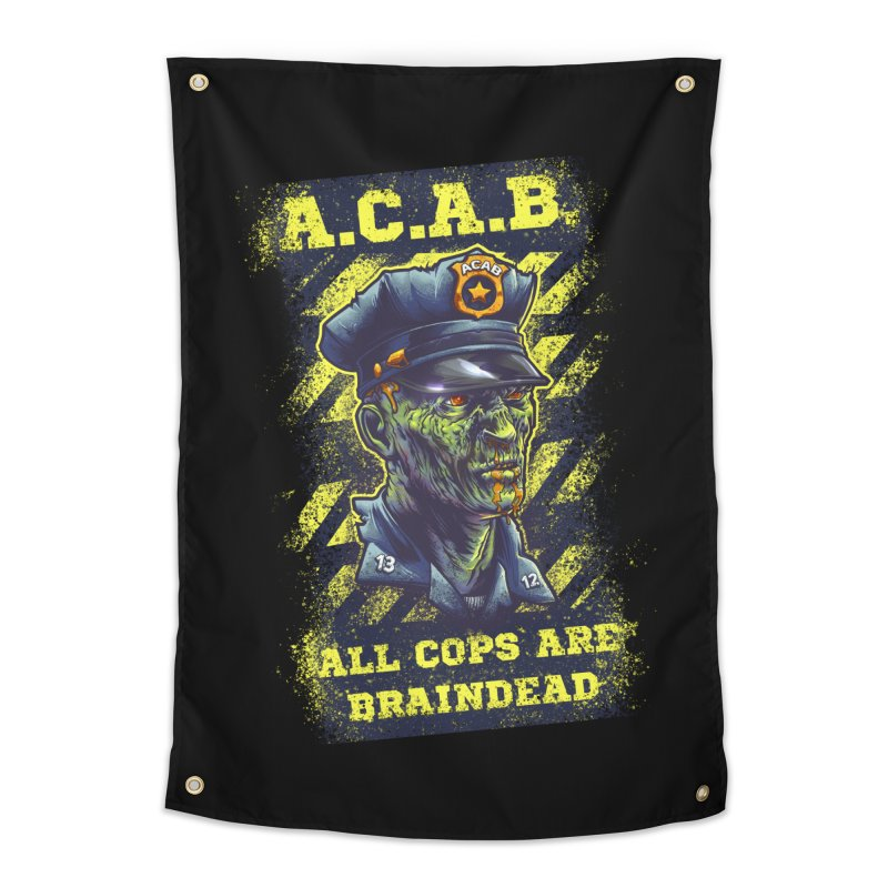 A.C.A.B. Home Tapestry by fishark's Artist Shop