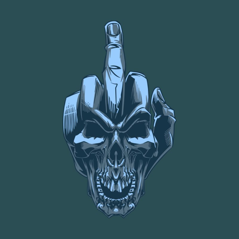 Fuck Skull by fishark's Artist Shop