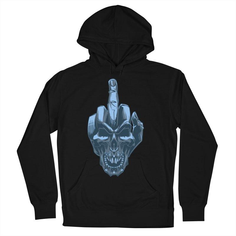 Fuck Skull Women's Pullover Hoody by fishark's Artist Shop