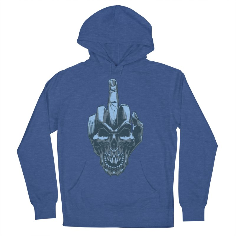 Fuck Skull Men's Pullover Hoody by fishark's Artist Shop