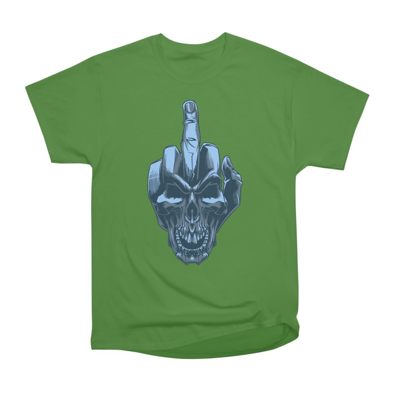 Fuck Skull Men's Classic T-Shirt by fishark's Artist Shop