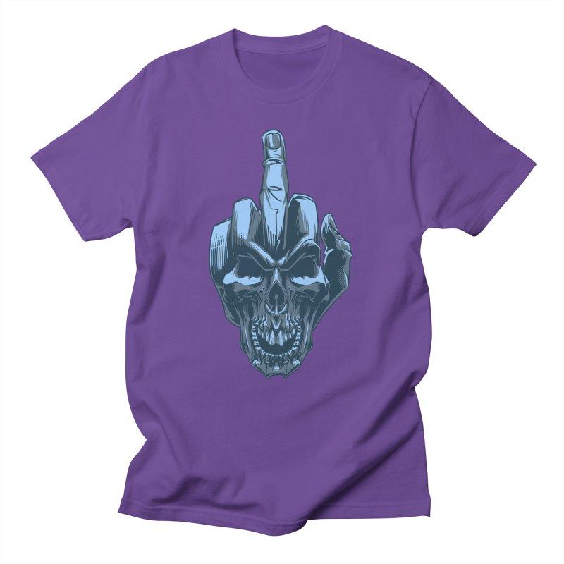 Fuck Skull Women's Unisex T-Shirt by fishark's Artist Shop