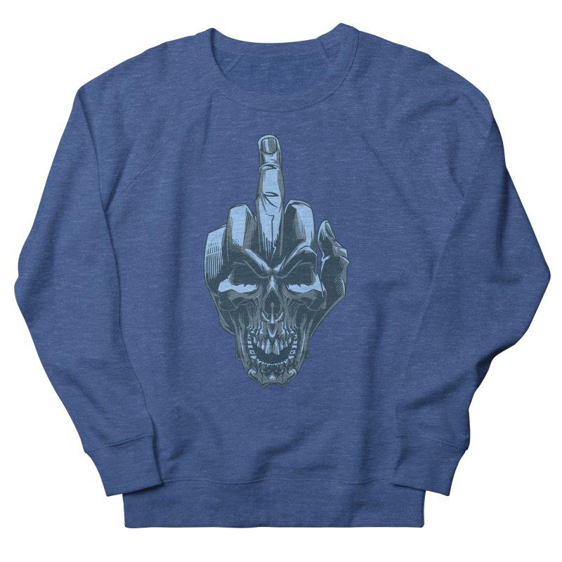 Fuck Skull Women's Sweatshirt by fishark's Artist Shop