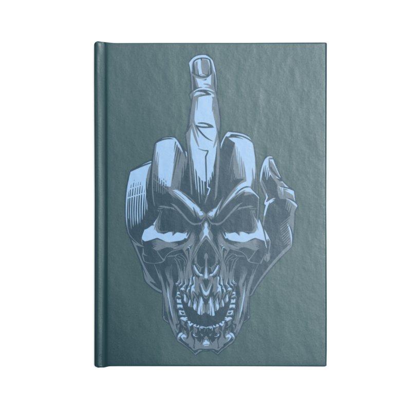 Fuck Skull Accessories Notebook by fishark's Artist Shop