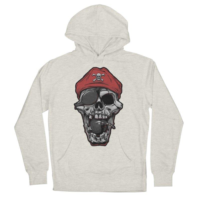 Skull pirate Women's Pullover Hoody by fishark's Artist Shop