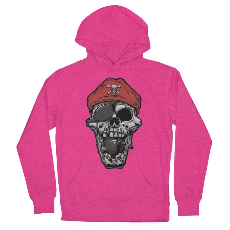Skull pirate Men's Pullover Hoody by fishark's Artist Shop