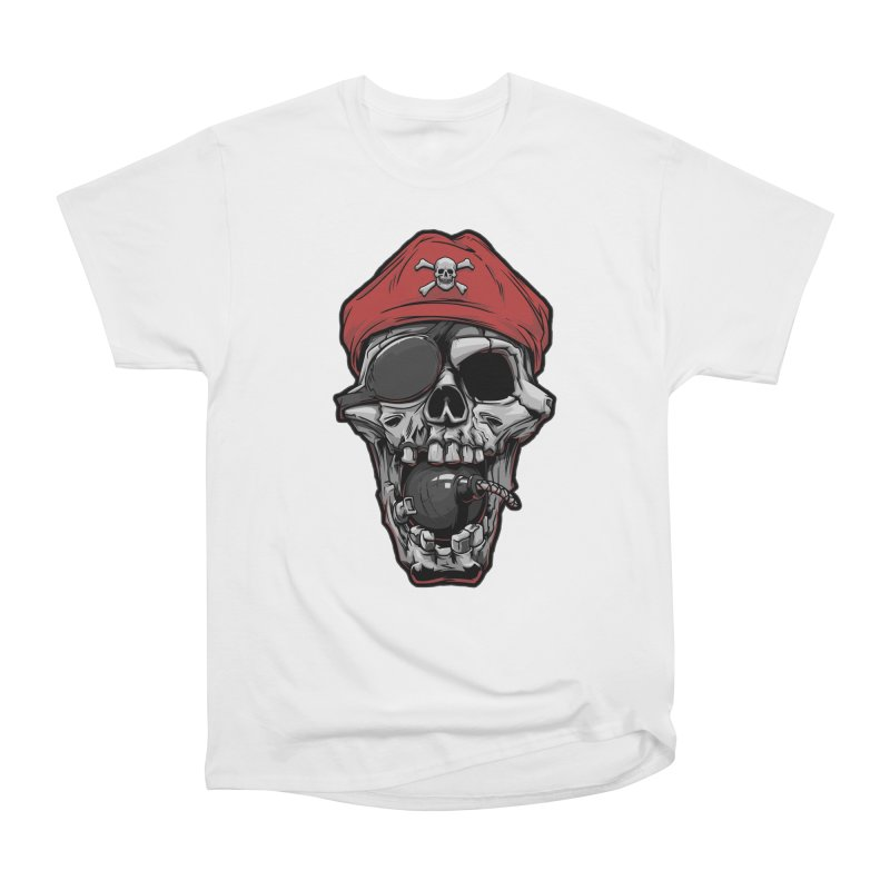 Skull pirate Men's Classic T-Shirt by fishark's Artist Shop