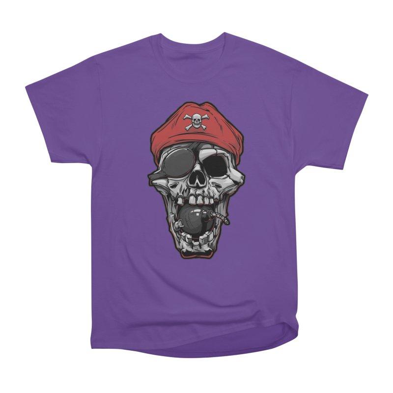 Skull pirate Women's Classic Unisex T-Shirt by fishark's Artist Shop