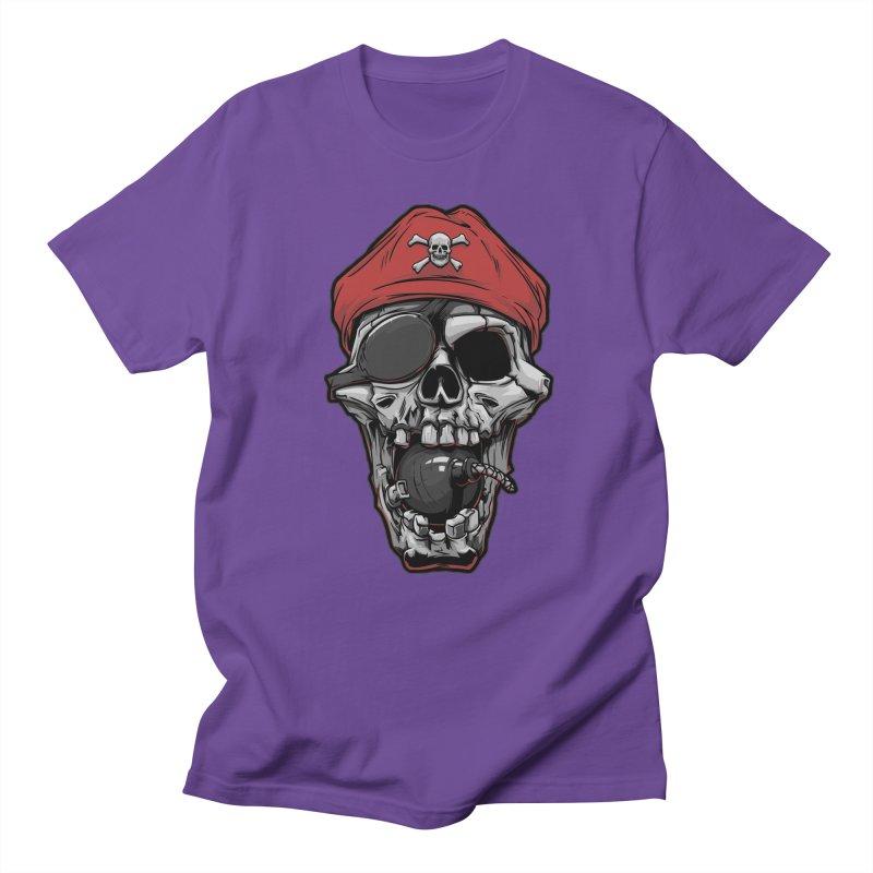 Skull pirate Men's T-Shirt by fishark's Artist Shop
