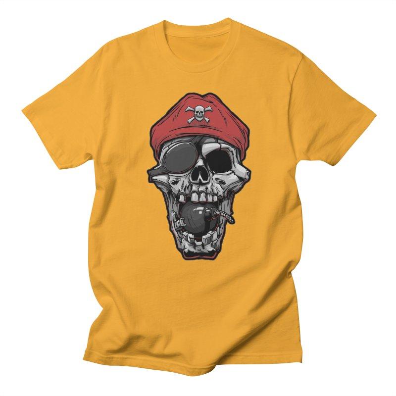Skull pirate Women's Unisex T-Shirt by fishark's Artist Shop