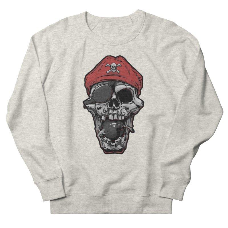 Skull pirate Women's Sweatshirt by fishark's Artist Shop