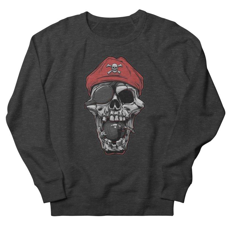 Skull pirate Men's Sweatshirt by fishark's Artist Shop