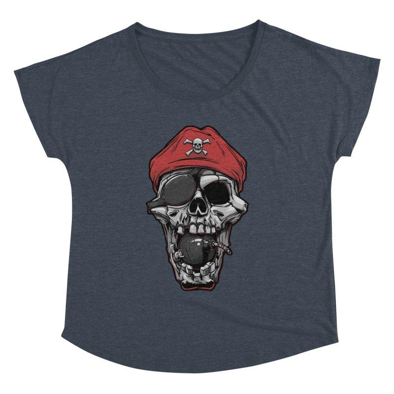 Skull pirate Women's Dolman by fishark's Artist Shop