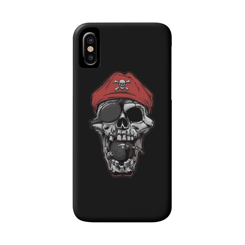 Skull pirate Accessories Phone Case by fishark's Artist Shop
