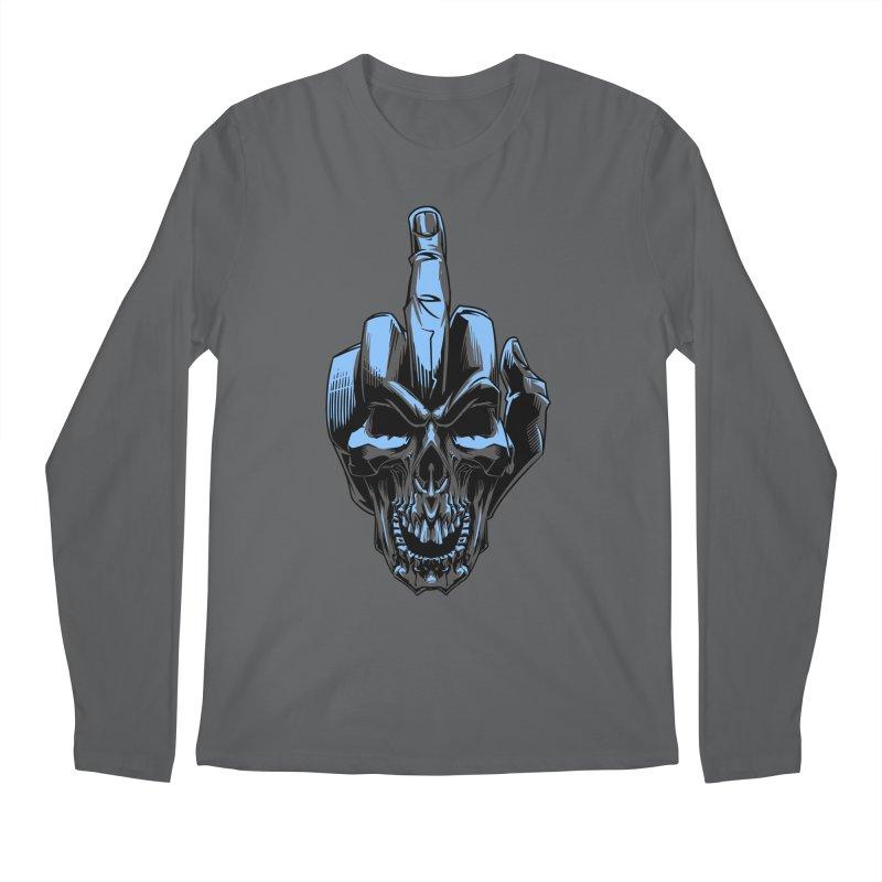 Skull Fuck Men's Longsleeve T-Shirt by fishark's Artist Shop