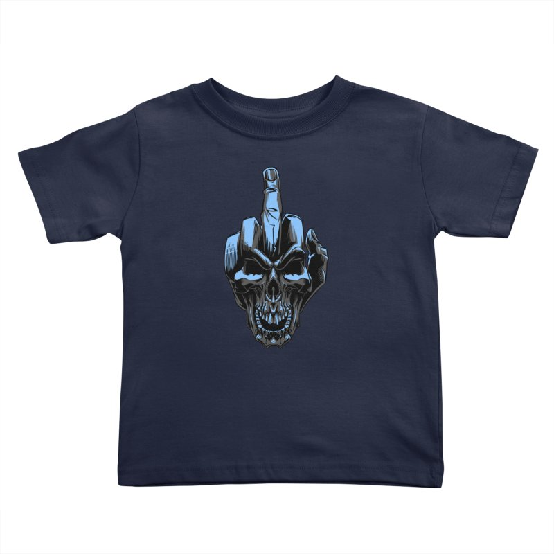 Skull Fuck Kids Toddler T-Shirt by fishark's Artist Shop