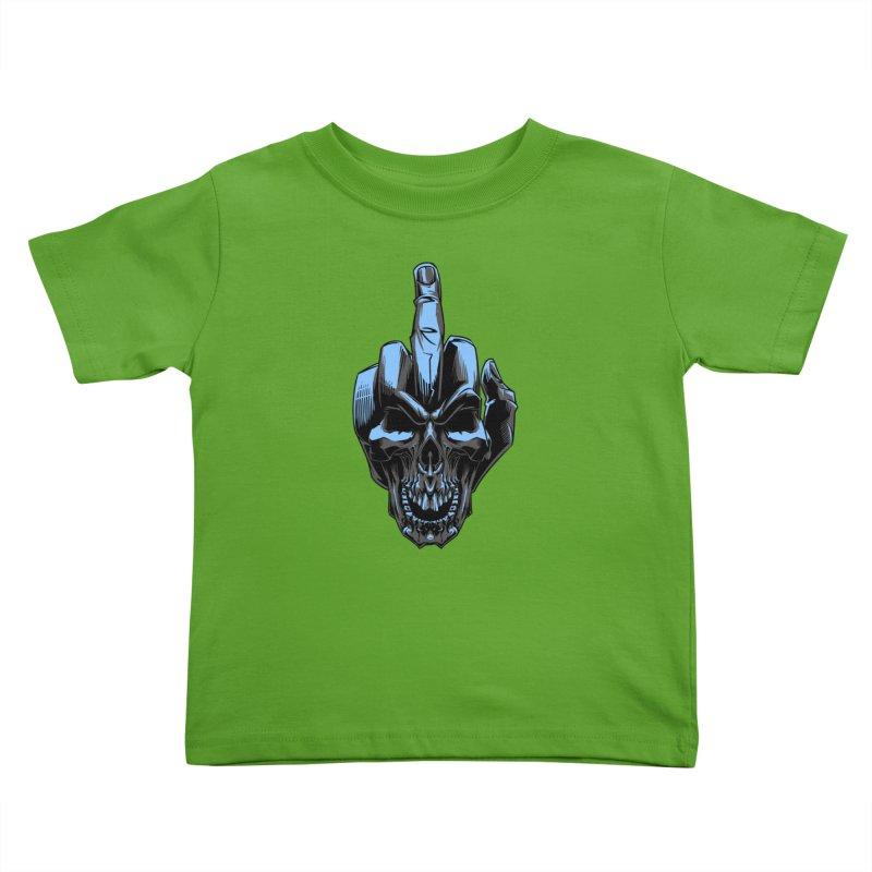 Skull Fuck Kids Toddler T-Shirt by fishark's Artist Shop