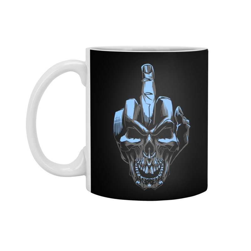 Skull Fuck Accessories Mug by fishark's Artist Shop