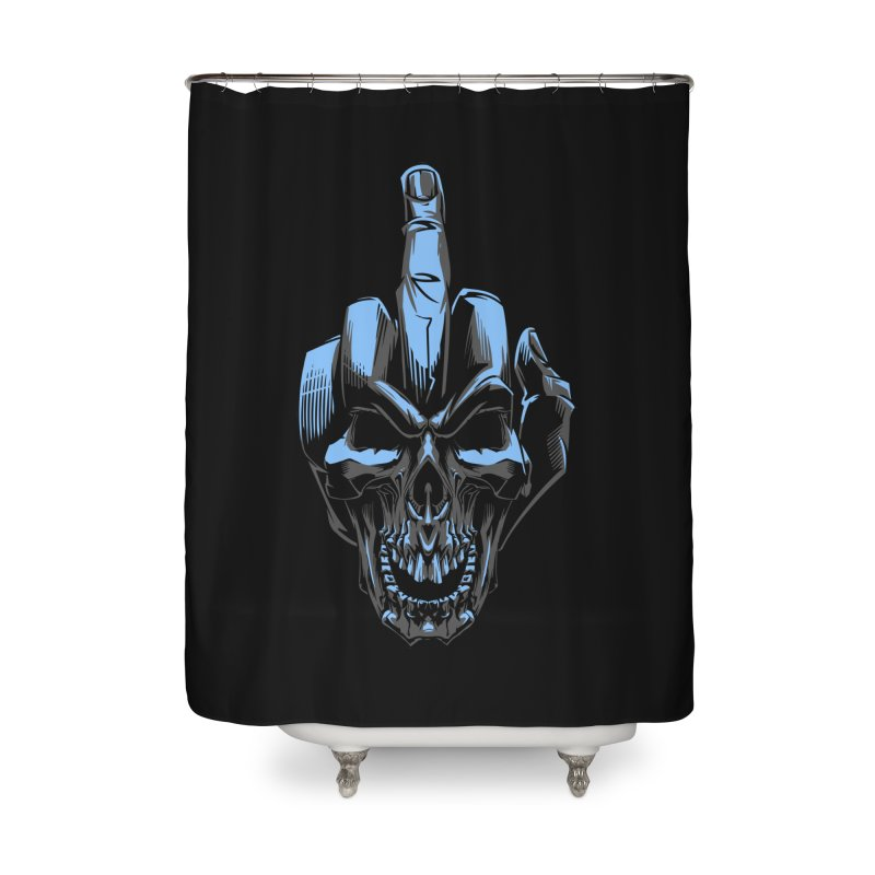 Skull Fuck Home Shower Curtain by fishark's Artist Shop