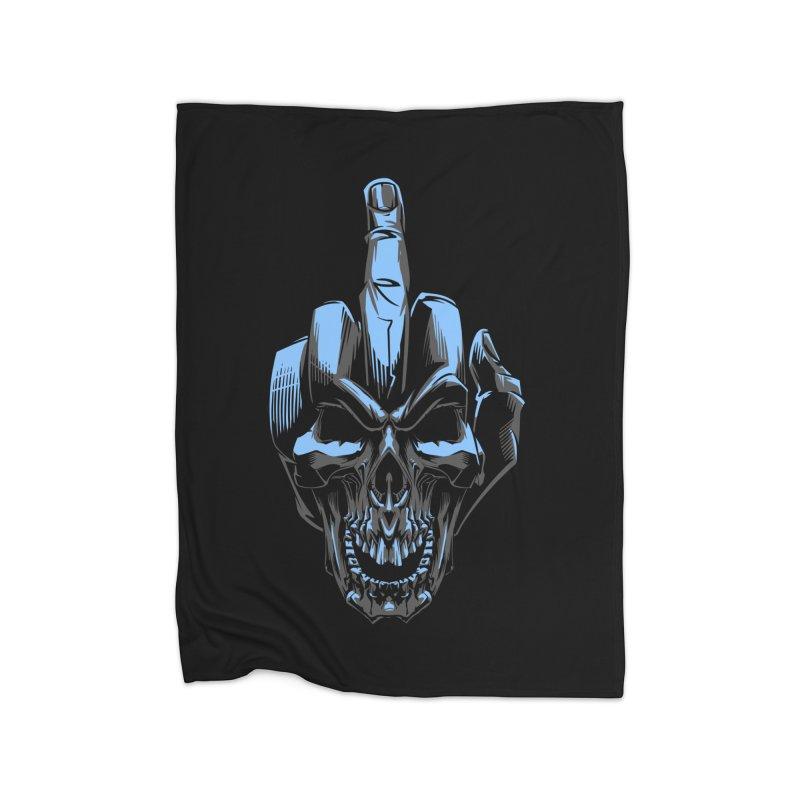 Skull Fuck Home Blanket by fishark's Artist Shop