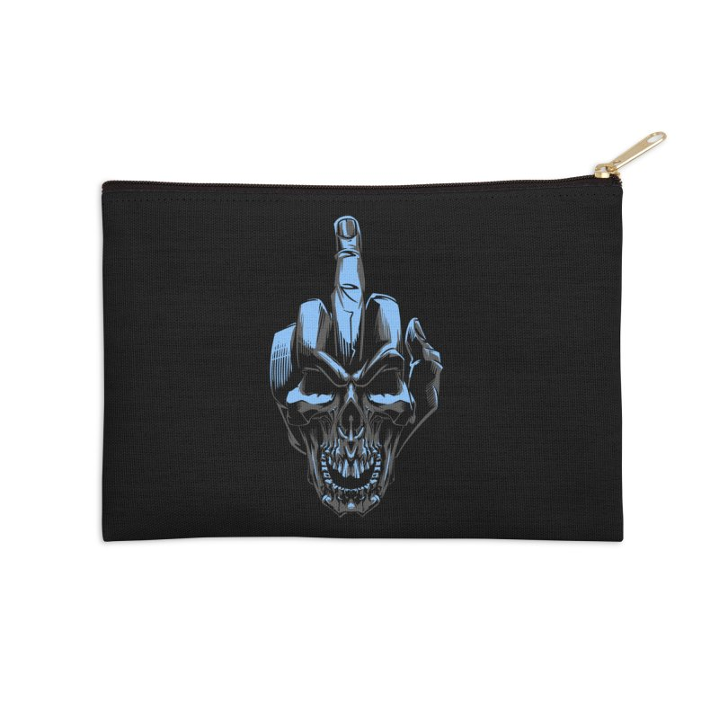 Skull Fuck Accessories Zip Pouch by fishark's Artist Shop