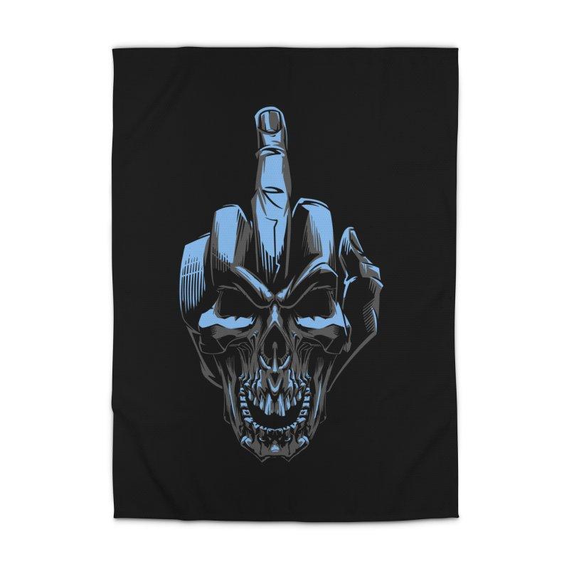 Skull Fuck Home Rug by fishark's Artist Shop