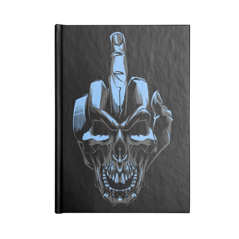 Skull Fuck Accessories Notebook by fishark's Artist Shop