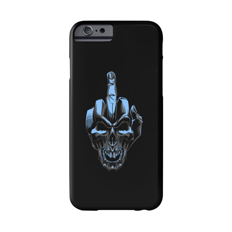 Skull Fuck Accessories Phone Case by fishark's Artist Shop