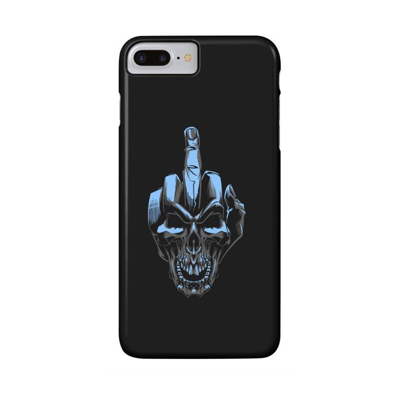 Skull Fuck Accessories Phone Case by fishark's Artist Shop