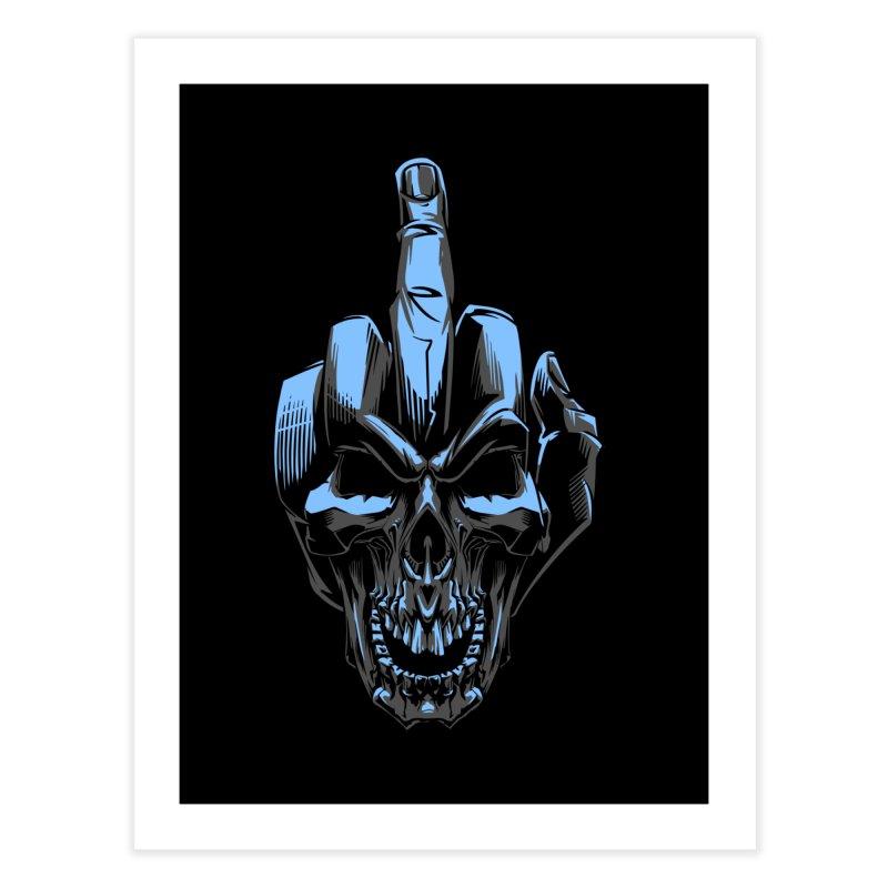 Skull Fuck Home Fine Art Print by fishark's Artist Shop