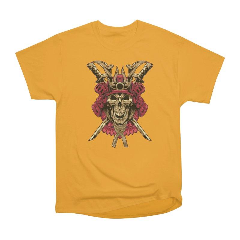 skull samurai Men's Classic T-Shirt by fishark's Artist Shop