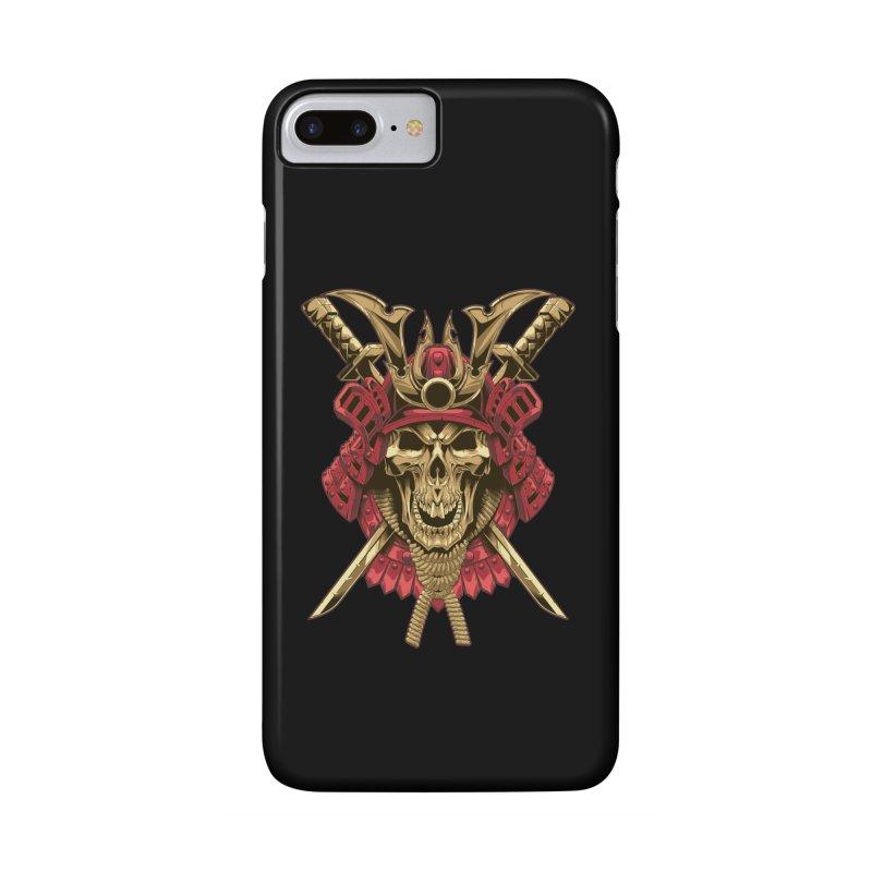 skull samurai Accessories Phone Case by fishark's Artist Shop