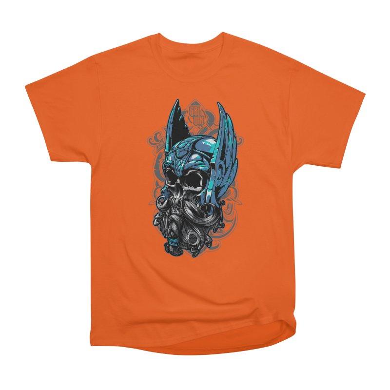 Skull viking Men's Classic T-Shirt by fishark's Artist Shop