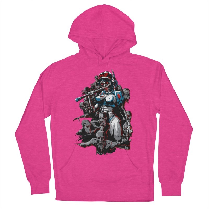 zombie snow white and dwarfs 666 Women's Pullover Hoody by fishark's Artist Shop