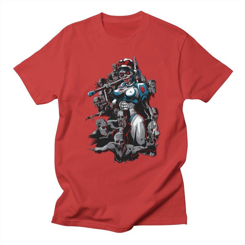 zombie snow white and dwarfs 666 Women's Regular Unisex T-Shirt by fishark's Artist Shop