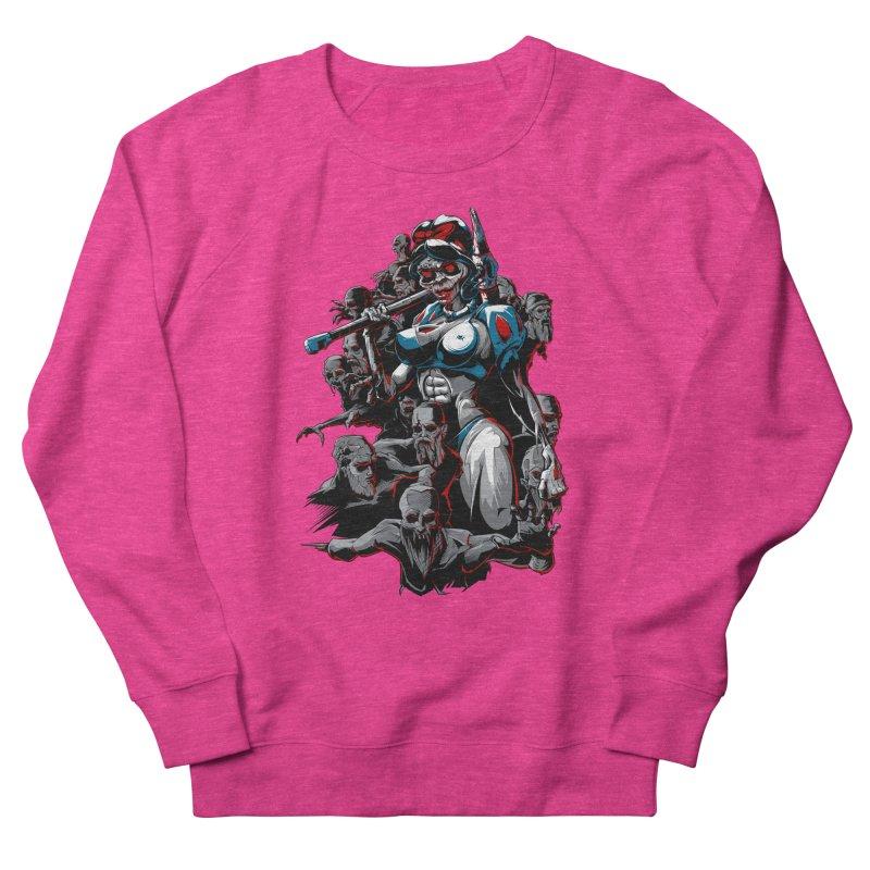 zombie snow white and dwarfs 666 Women's Sweatshirt by fishark's Artist Shop