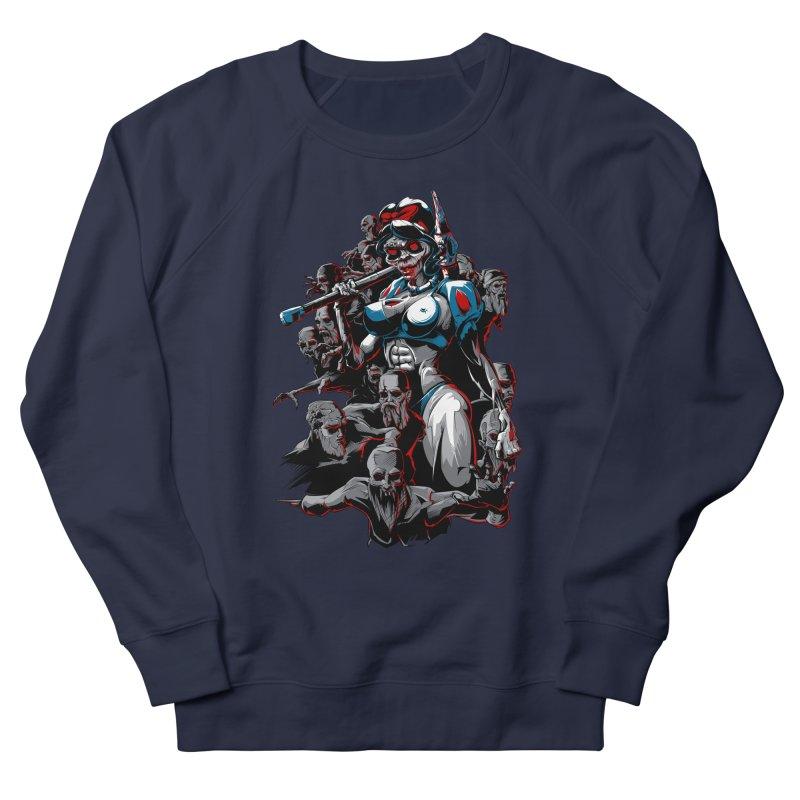zombie snow white and dwarfs 666 Women's French Terry Sweatshirt by fishark's Artist Shop