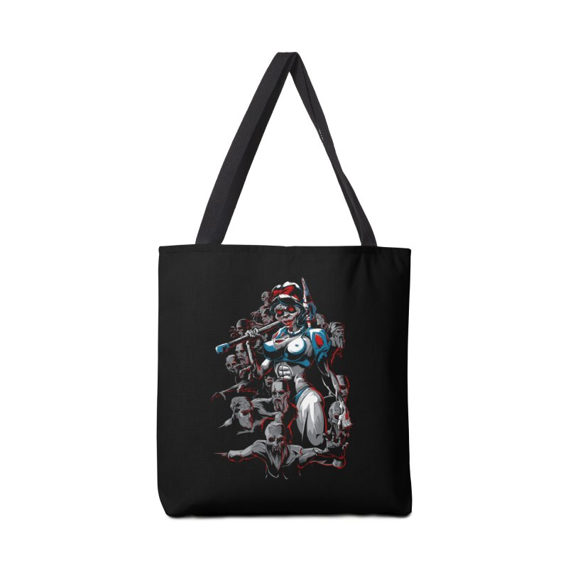 zombie snow white and dwarfs 666 Accessories Bag by fishark's Artist Shop