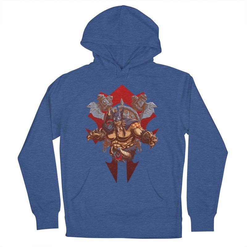 Rexxar War Craft Men's Pullover Hoody by fishark's Artist Shop