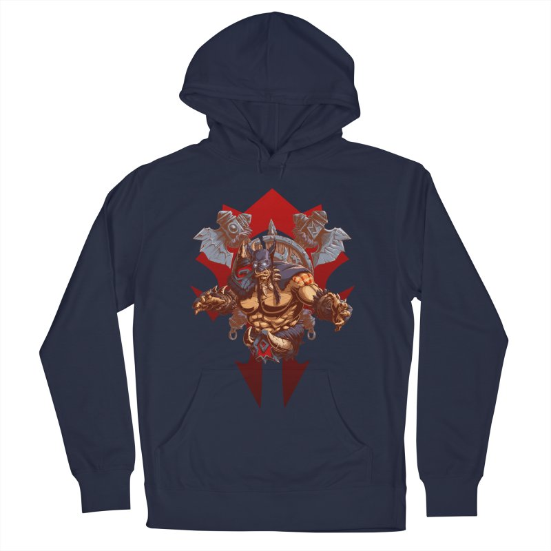 Rexxar War Craft Men's French Terry Pullover Hoody by fishark's Artist Shop