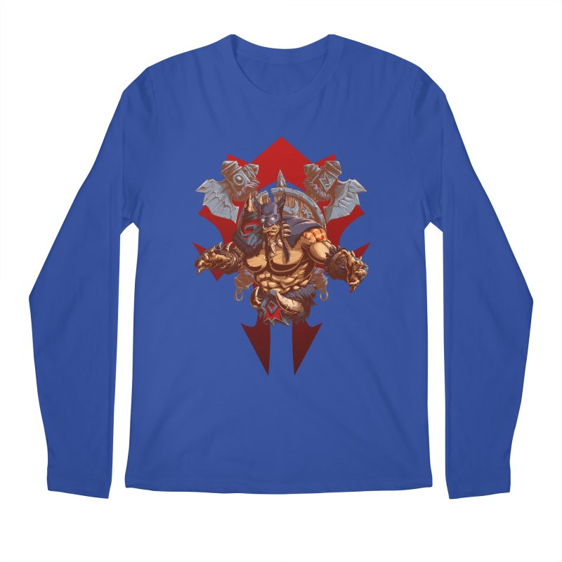Rexxar War Craft Men's Regular Longsleeve T-Shirt by fishark's Artist Shop