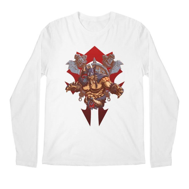 Rexxar War Craft Men's Regular Longsleeve T-Shirt by fishark's Artist Shop