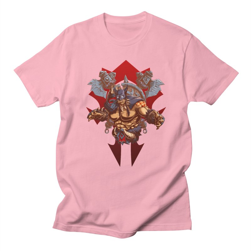 Rexxar War Craft Men's Regular T-Shirt by fishark's Artist Shop